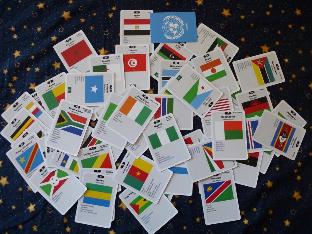 Africa deck